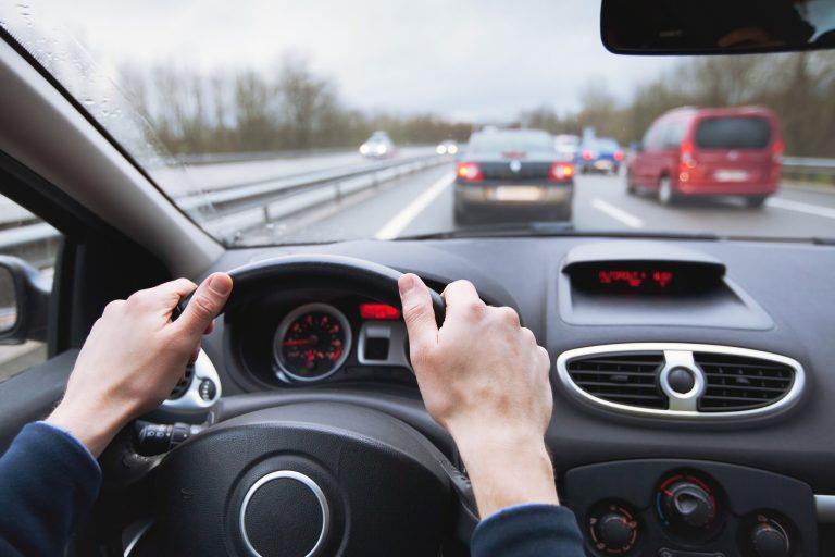 Commuting in a car