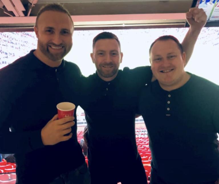 At Old Trafford