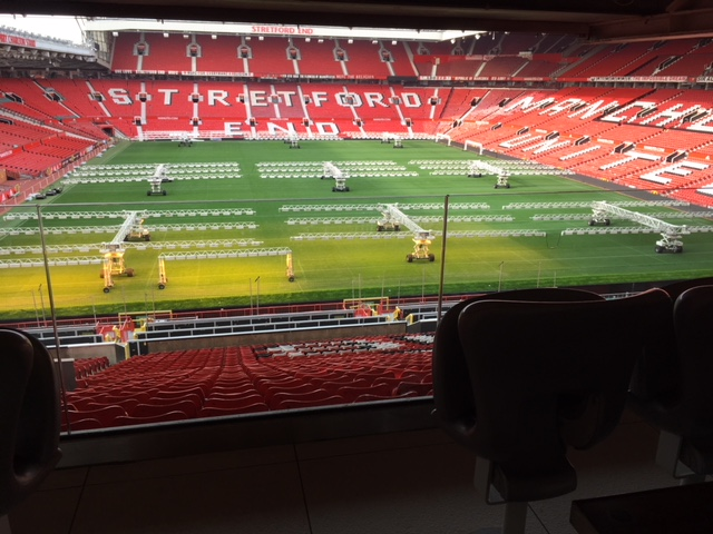 Manchester United box