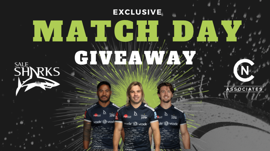 Sale Sharks Match Day Giveaway